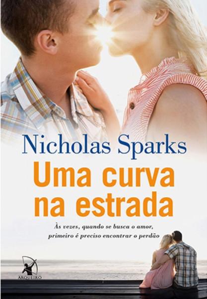 Capa de Uma curva na estrada - Nicholas Sparks