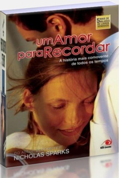Capa de Um amor para recordar - Nicholas Sparks