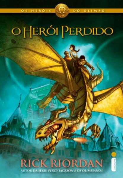 Capa de O herói perdido - Rick Riordan