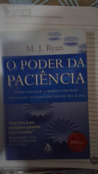 Capa de O poder da paciência - M. J. Ryan