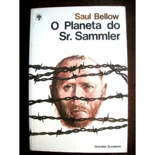 Capa de O Planeta do Sr. Sammler - Saul Bellow
