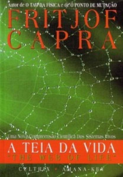 Capa de A teia da vida - Fritjof Capra