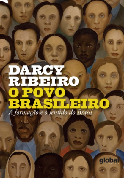 Capa de O povo brasileiro - Darcy Ribeiro