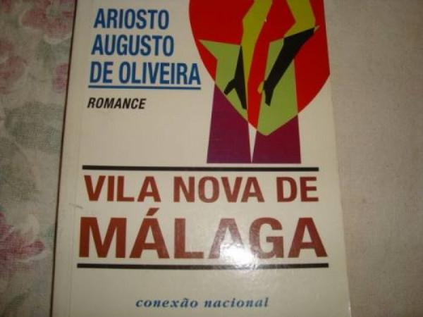 Capa de Vila Nova de Málaga - Ariosto Augusto de Oliveira