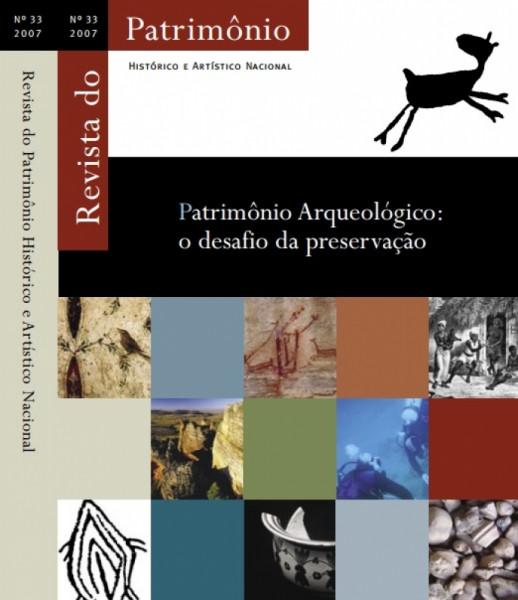 Capa de Patrimônio Arqueológico - Org Tania Andrade Lima