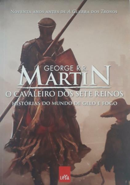 Capa de O cavaleiro dos sete reinos - George R. R. Martin