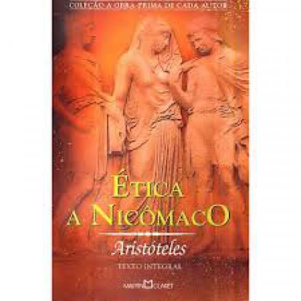 Capa de Ética a Nicômaco - Aristóteles