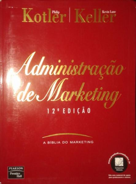 Capa de Administração de marketing - Philip Kotler; Kevin Lane Keller