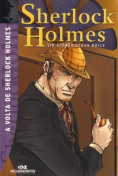 Capa de A volta de Sherlock Holmes - Arthur Conan Doyle
