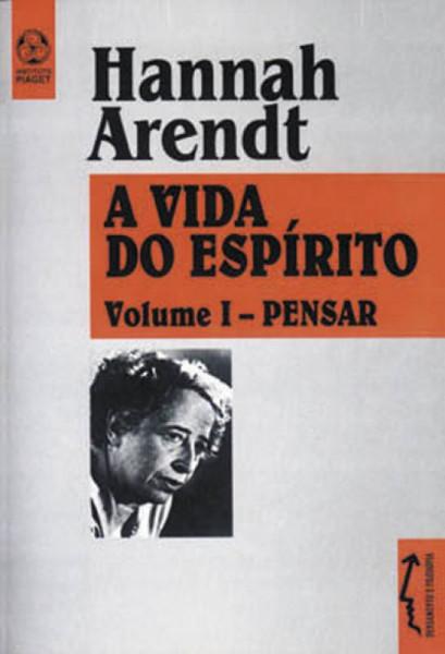 Capa de A vida do espírito volume 2 - Hannah Arendt