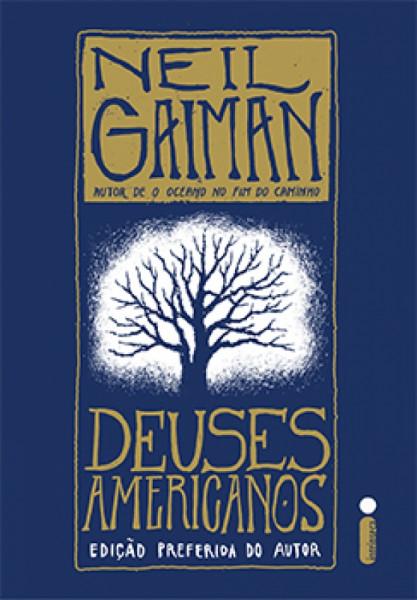 Capa de Deuses Americanos - Neil Gaiman