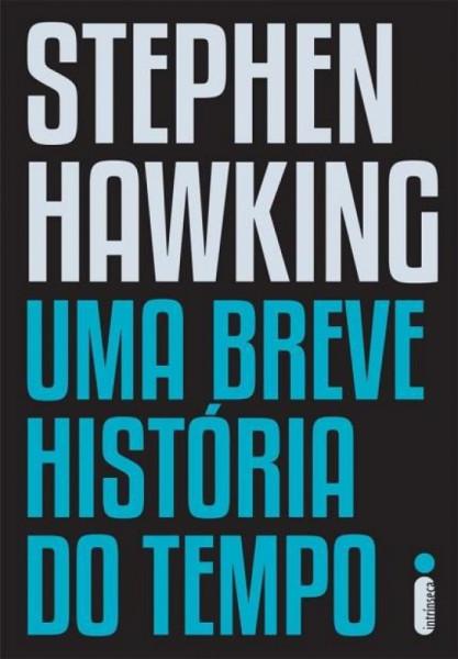 Capa de Uma breve história do tempo - Stephen Hawking