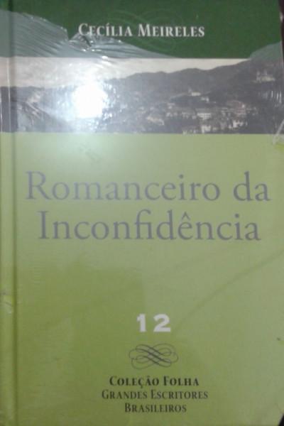 Capa de Romanceiro de inconfidência - Cecília Meireles