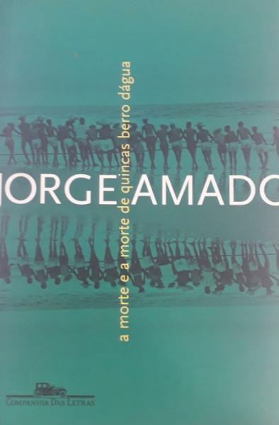 Capa de A morte e a morte de Quincas Berro D'Água - Jorge Amado