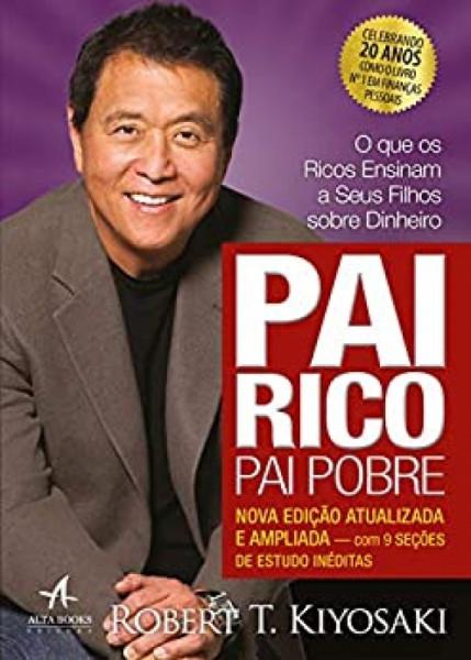 Capa de Pai rico, pai pobre - Robert T. Kiosaki