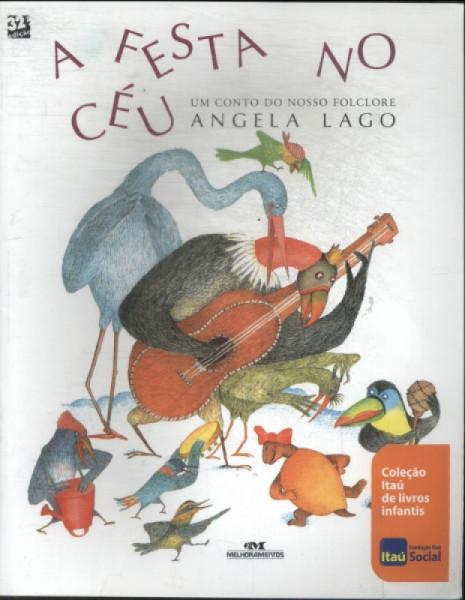 Capa de A festa no céu - Angela Lago