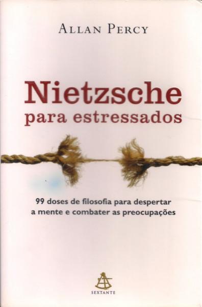 Capa de Nietzsche para estressados - Allan Percy