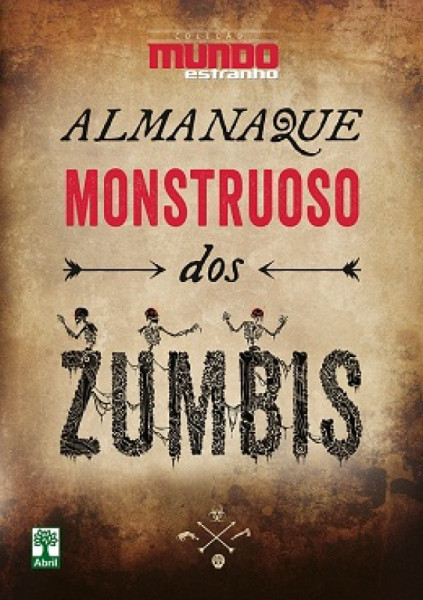 Capa de Almanaque Monstruoso dos Zumbis - Revista Mundo Estranho