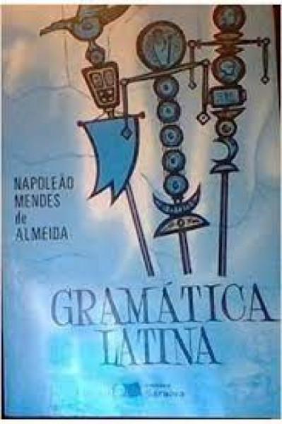Capa de Gramática latina - Napoleão Mendes de Almeida