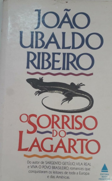 Capa de O sorriso do lagarto - João Ubaldo Ribeiro