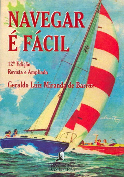 Capa de Navegar é Fácil - Geraldo Luiz Miranda de Barros