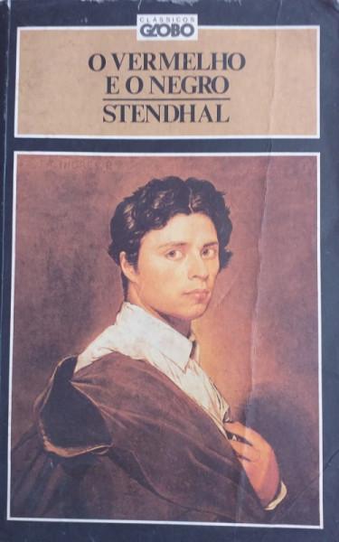 Capa de O vermelho e o negro - Stendhal