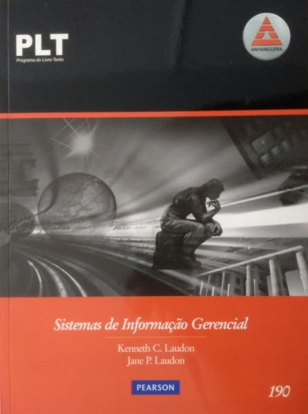 Capa de Sistemas de informação gerencial - Knenneth C. Laudon; Jane P. Laudon