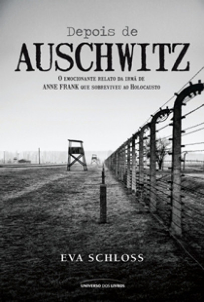 Capa de Depois de Auschwitz - Eva Schloss
