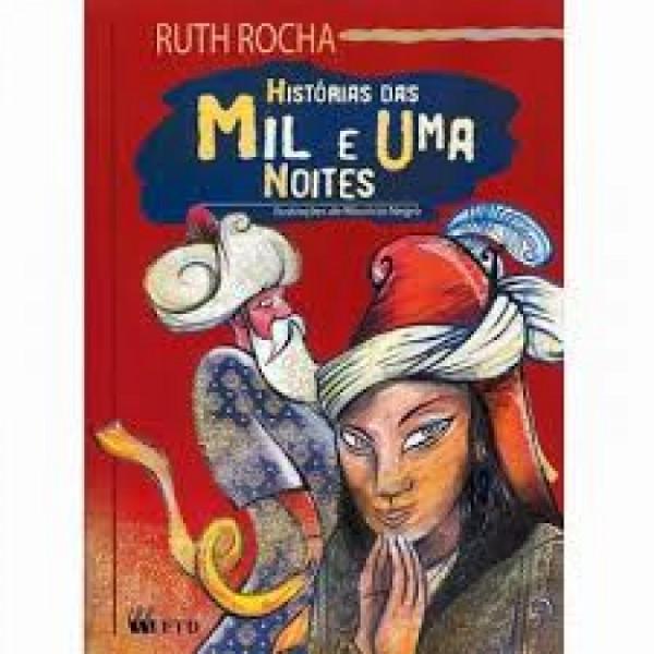 Capa de Histórias das mil e uma noites - Ruth Rocha