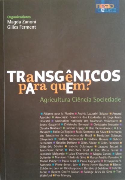 Capa de Transgênicos para quem - Vários