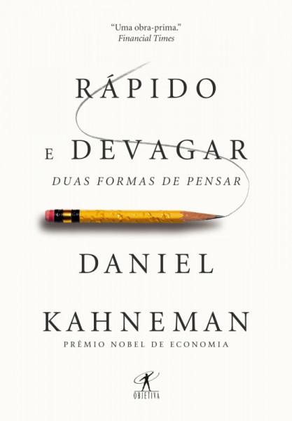 Capa de Rápido e devagar - Daniel Kahneman