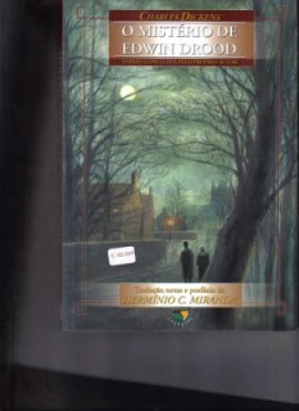 Capa de O mistério de Edwin Drood - Charles Dickens