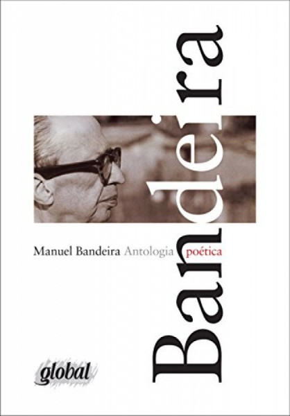Capa de Antologia Poética - Manuel Bandeira