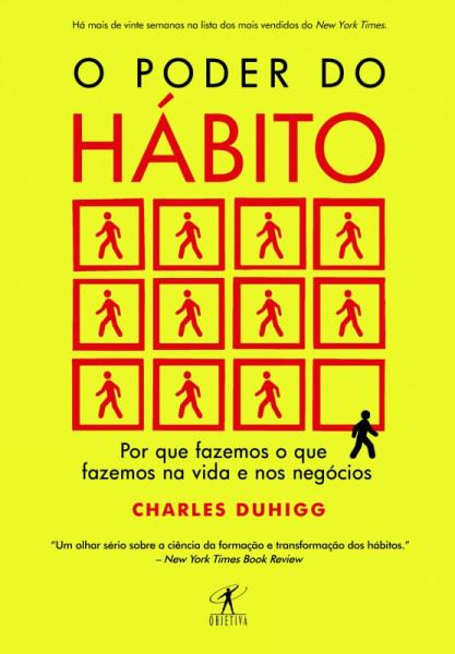 Capa de O poder do hábito - Charles Duhigg