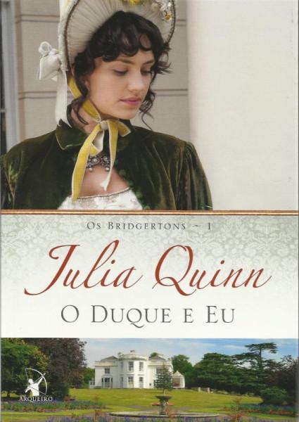 Capa de O duque e eu - Julia Quinn
