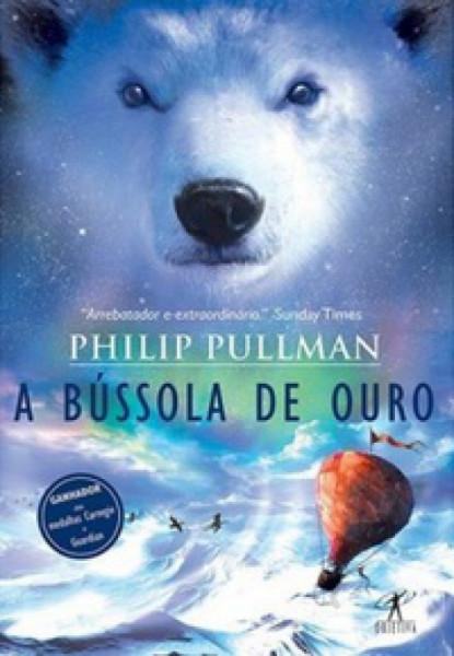 Capa de A bússola de ouro - Philip Pullman