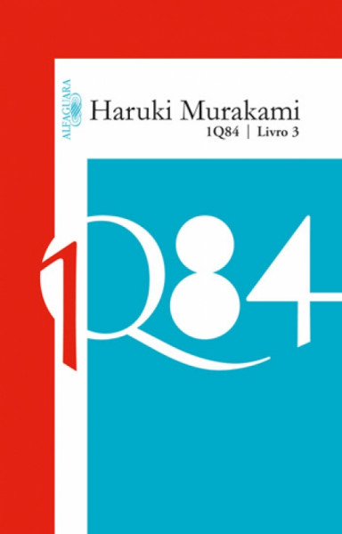 Capa de 1Q84 livro 3 - Haruki Murakami