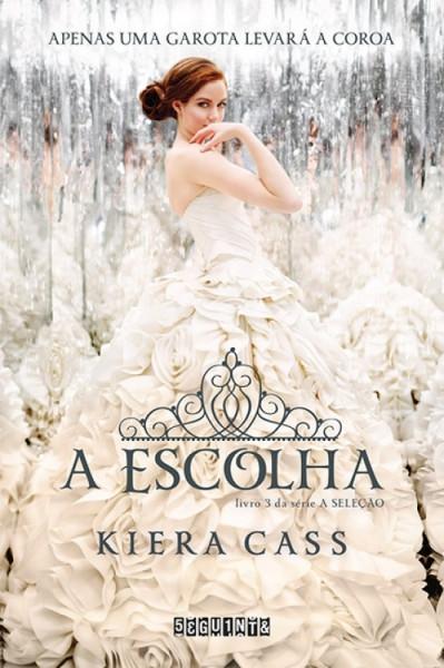 Capa de A escolha - Kiera Cass