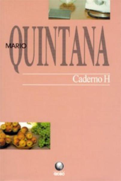 Capa de Caderno H - Mário Quintana