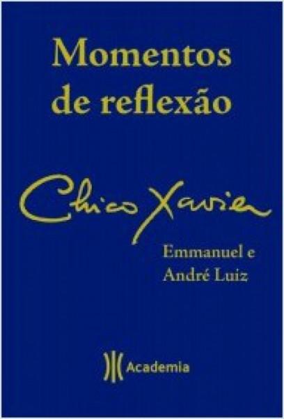 Capa de Momentos de reflexão - Francisco Cândido Xavier