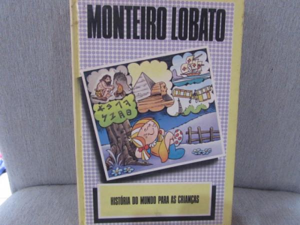 Capa de História do mundo para as crianças - Monteiro Lobato