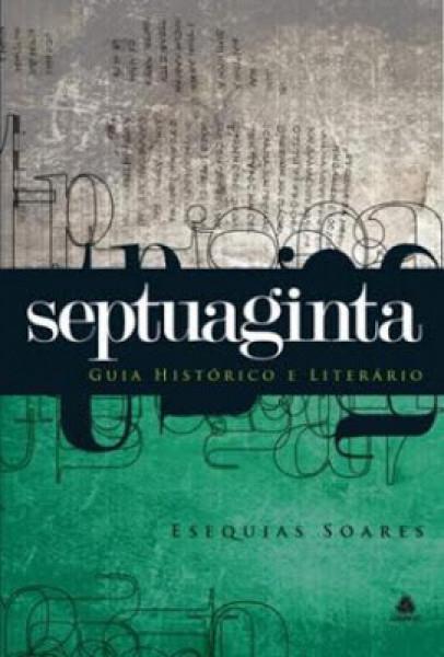 Capa de SEPTUAGINTA - ESEQUIAS SOARES