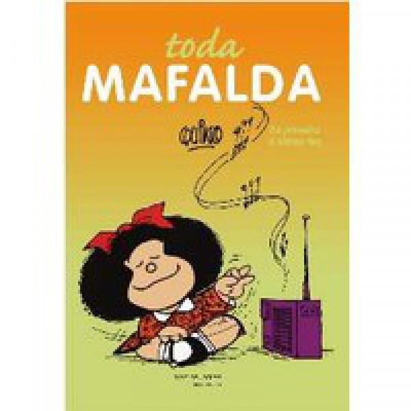 Capa de toda Mafalda - Quino