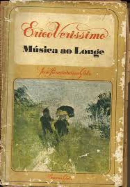 Capa de Música ao longe - Érico Veríssimo