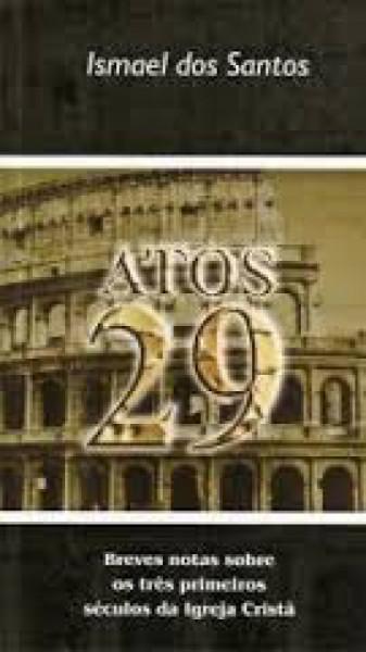 Capa de Atos 29 - Ismael dos Santos