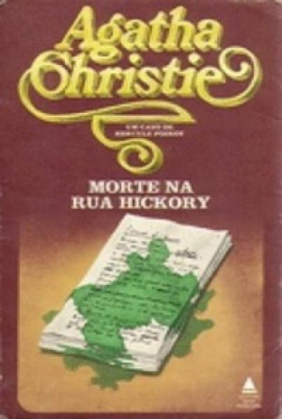 Capa de Morte na Rua Hickory - Agatha Christie