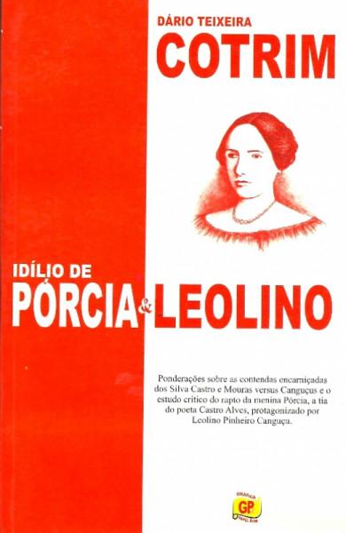 Capa de Idílio de Pórcia - Dário Teixeira Cotrim