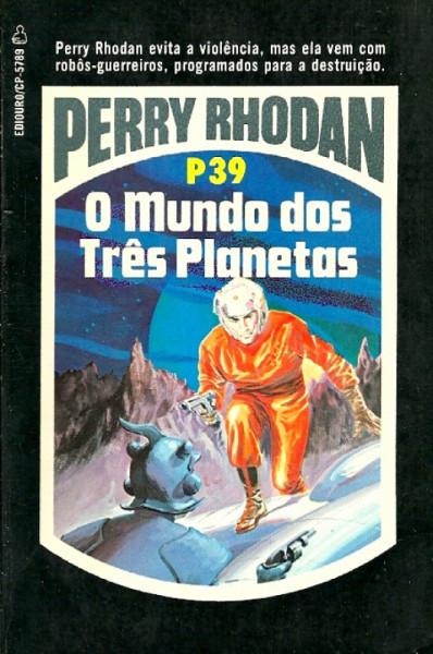 Capa de Perry Rhodan - P39 - K. H. Scheer