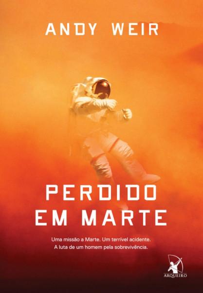 Capa de Perdido em Marte - Andy Weir