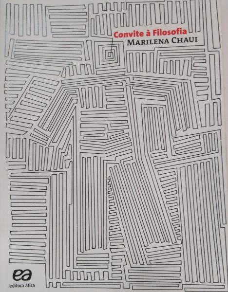 Capa de Convite à filosofia - Marilena Chaui